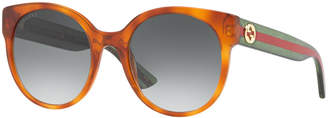 Gucci Sunglasses, GG0035S $360 thestylecure.com