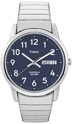Timex Easy Reader Mens Stainless Steel Expansion Strap Watch T200319J