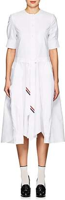 Thom Browne Women's Oxford Cloth Belted Shirtdress - White