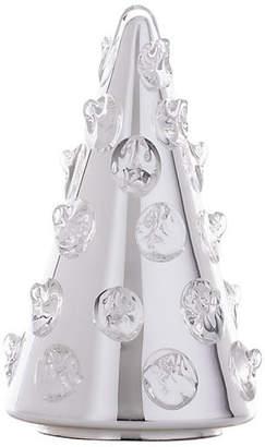 "Juliska 8"" Florence Silver Bohemian Glass Tree"