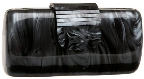 Jessica McClintock Rectangle Fold Over Box Clutch