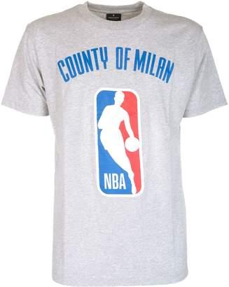 Marcelo Burlon County of Milan Nba Logo Print T-shirt