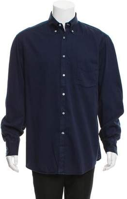 Brunello Cucinelli Long Sleeve Button-Up Shirt