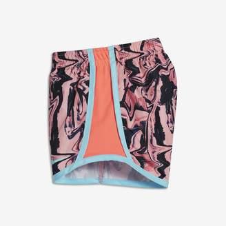 Nike Dri-FIT Tempo Toddler Girls' Printed Shorts