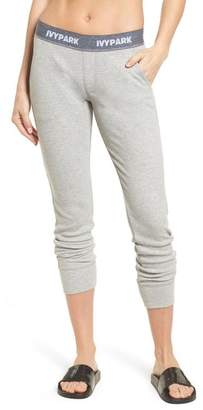 Ivy Park R) Loose Fit Marl Rib Leggings