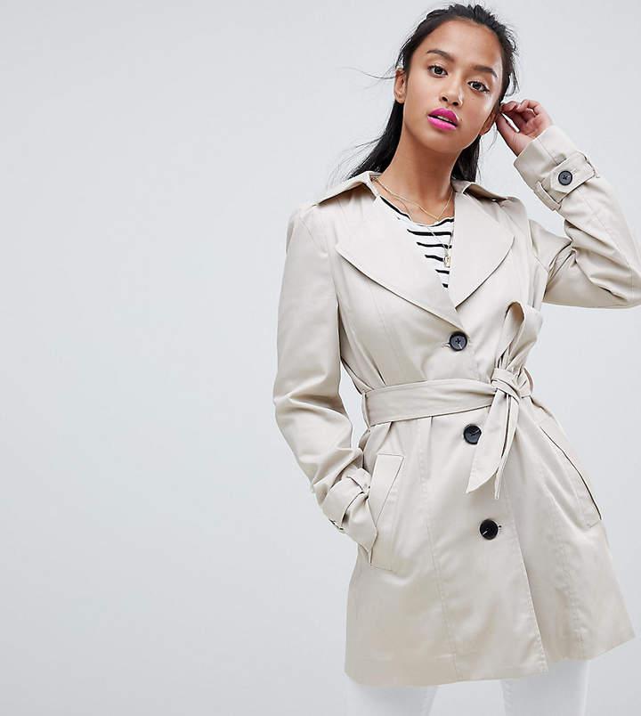 Vero Moda Petite – Klassischer Trenchcoat