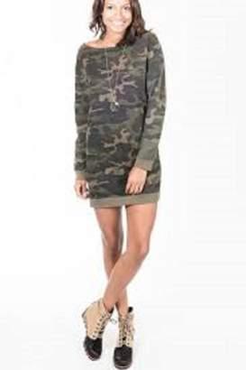 RD Style Sweatshirt Camo Dress