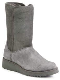 UGG Amie Classic Slim Medium Wedge Boots