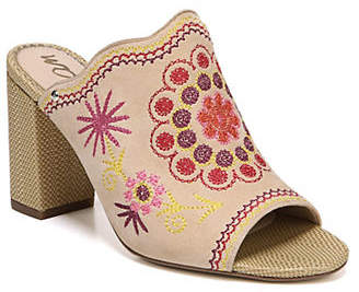 Sam Edelman Olive Embroidered Mules