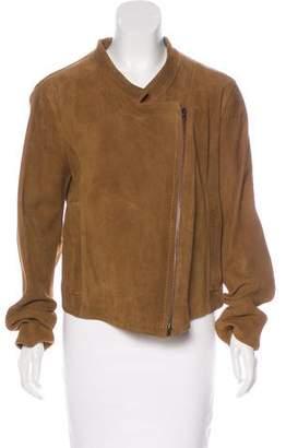 Donna Karan Suede Casual Jacket w/ Tags