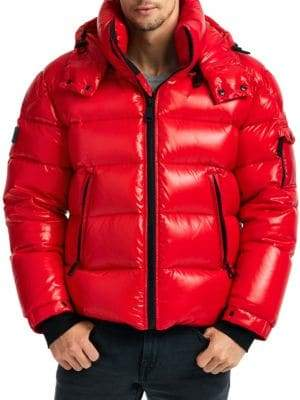 SAM. Glacier Steel Puffer Jacket