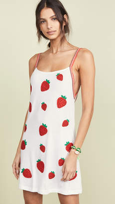 Pitusa Strawberry Dress