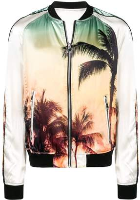 Palms Printed Jacket
