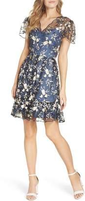 Gal Meets Glam Bridget Embroidered Dress