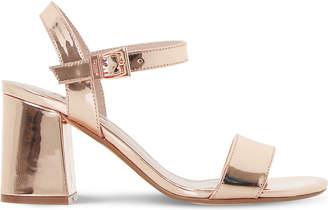 Dune Mylow metallic sandals