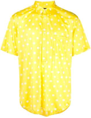 Comme des Garcons polka dot shirt