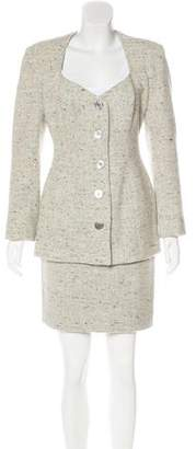 Michael Kors Wool Mini Skirt Suit
