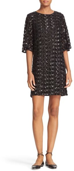Kate Spade Women's Kate Spade New York Sequin Dot Shift Dress
