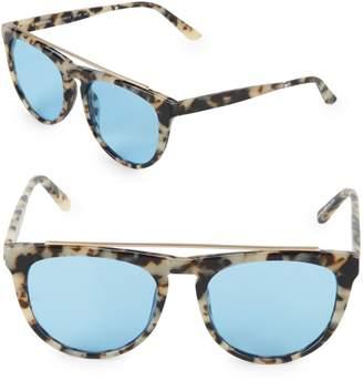 Smoke X Mirrors Road Runner 53MM Oval Sunglasses