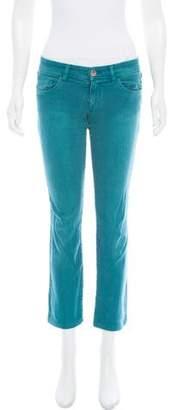 Chloé Mid-Rise Straight-Leg Jeans