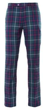 Paisley and Gray Downing Tartan Pants