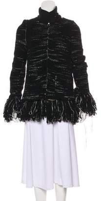 Sacai Wool Long Sleeve Short Coat