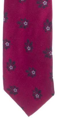 Dolce & Gabbana Embroidered Silk Tie