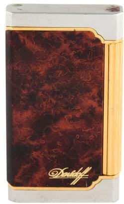 Davidoff Wood Paneled Cigar Lighter