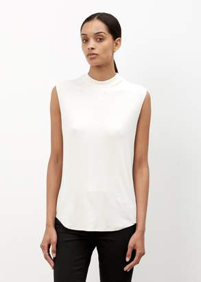 Nomia Mock Neck Muscle Tee
