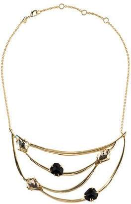 Alexis Bittar Tiered Liquid Crystal Bib Necklace