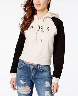GUESS Originals Logo Hooded Sweatshirt