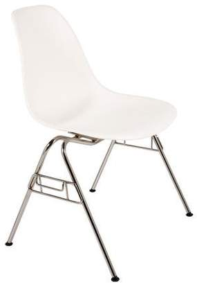 Herman Miller Eames Molded Plastic Wire-Base Side Chair