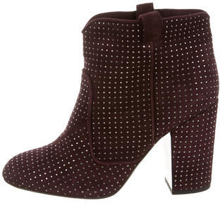 Laurence Dacade Embellished Ankle Boots $325 thestylecure.com