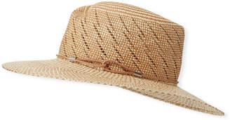 Rag & Bone Zoe Two-Tone Straw Hat