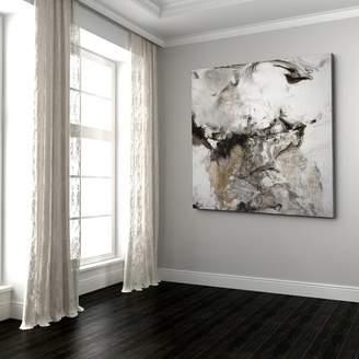 Orren Ellis 'Marble Onyx II' Graphic Art Print on Canvas