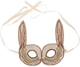 Coral & Tusk Bunny Mask - Beige