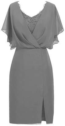 CladiyaDress Women A Line Knee Length Mother of the Bride Dress C087LF US