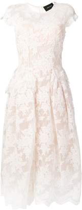 Simone Rocha lace detailed midi dress