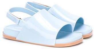 Mini Melissa open-toe varnished sandals