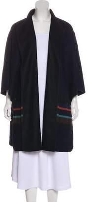 Akris Punto Oversize Open Front Cardigan