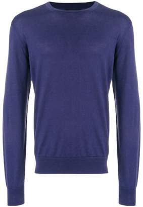 Corneliani classic crew neck jumper
