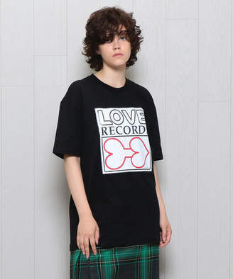 Aalto LOVE RECORD T-SHIRT/Tシャツ