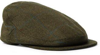 Musto Shooting Checked Wool-Blend Tweed Flat Cap