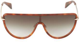 Rag & Bone 99MM Tinted Wrap Sunglasses