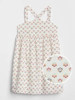 Gap Floral Crossback Dress