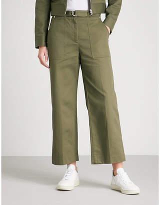 Rag & Bone Lora cropped cotton-twill trousers