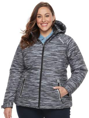 Free Country Plus Size Softshell Puffer Jacket