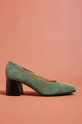 a29882cb2a4 Anthropologie Corduroy Block Heels