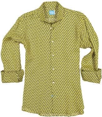 Panareha Ipanema Linen Shirt in Yellow