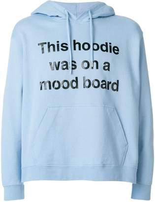 House of Holland slogan print hoodie